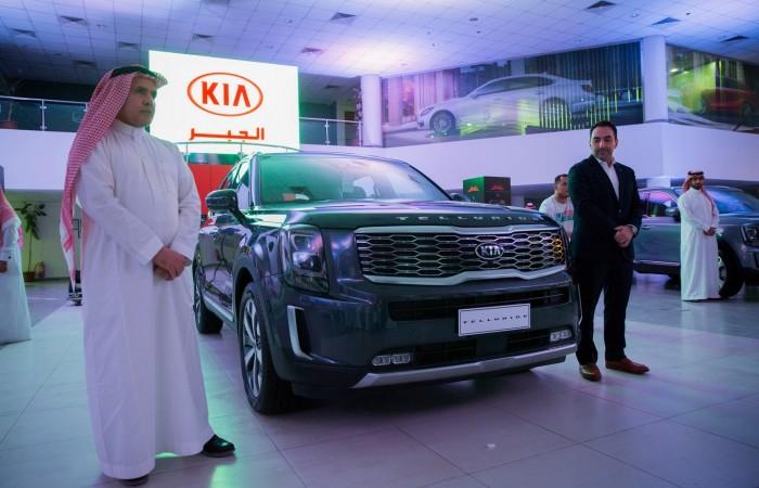 bc0945504 كيا الجبر تدشن كيا تيلورايد رسميا في السوق السعودي