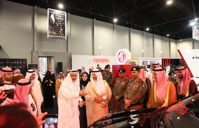 f33eb0bf6 ام جي ترعى المعرض الدولي المتخصص بالسيارات لقيادة المرأة
