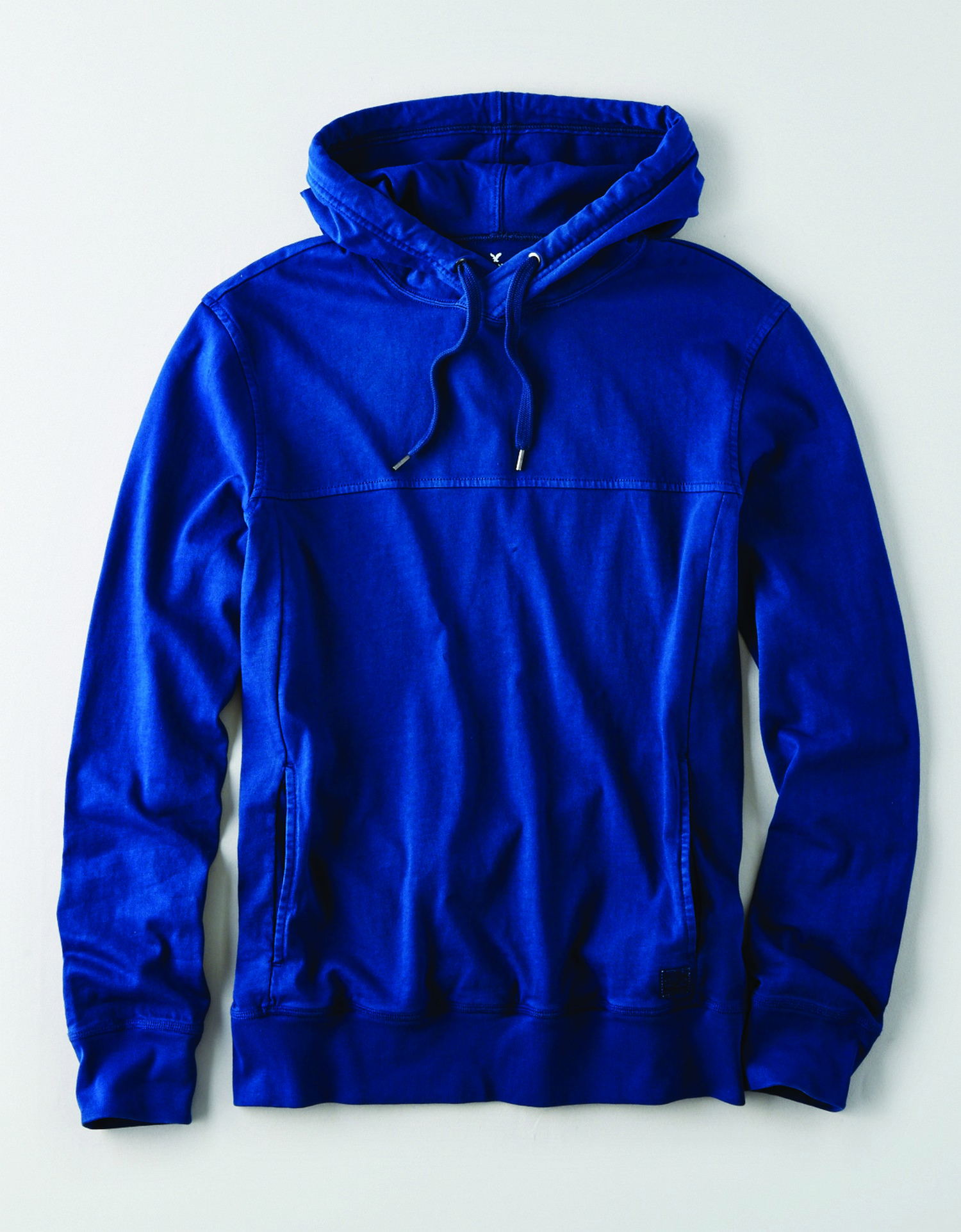 AE - M - Apparel - LS DYED HOODIE - Navy Blue - Solid Color - Plain Hoodie JP *Tracked