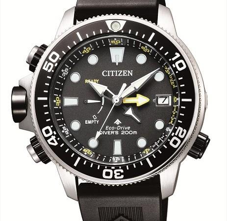 """c6e65a9cf سيتزن اليابانية تطرح موديل جديد من ساعة بروماستر أكولاند خاص بعشاق رياضة  الغوص · """""""